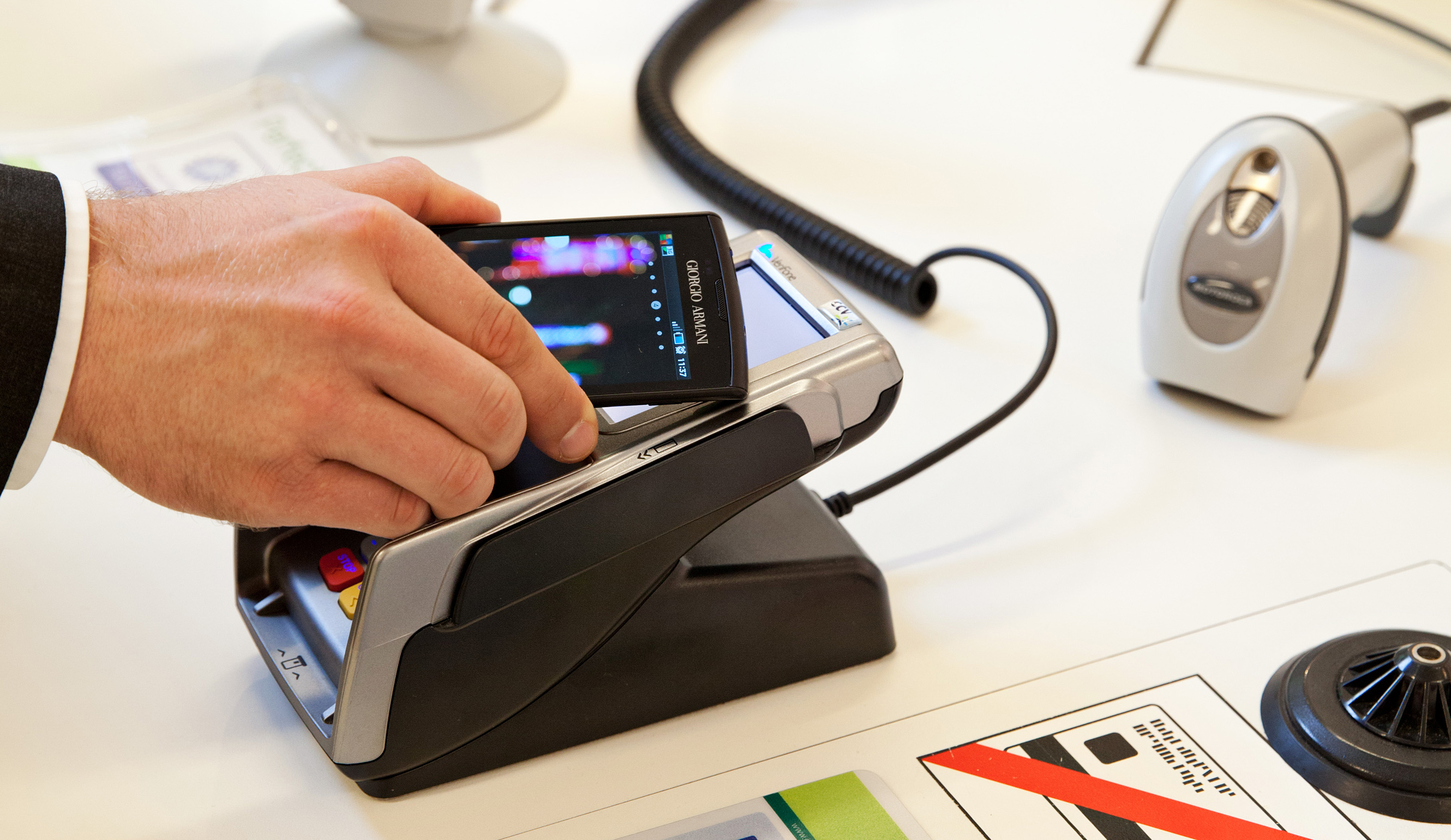 Smartphone mobile payment