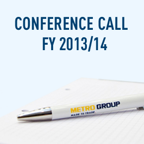 Conference Call Financial Year 2013/14